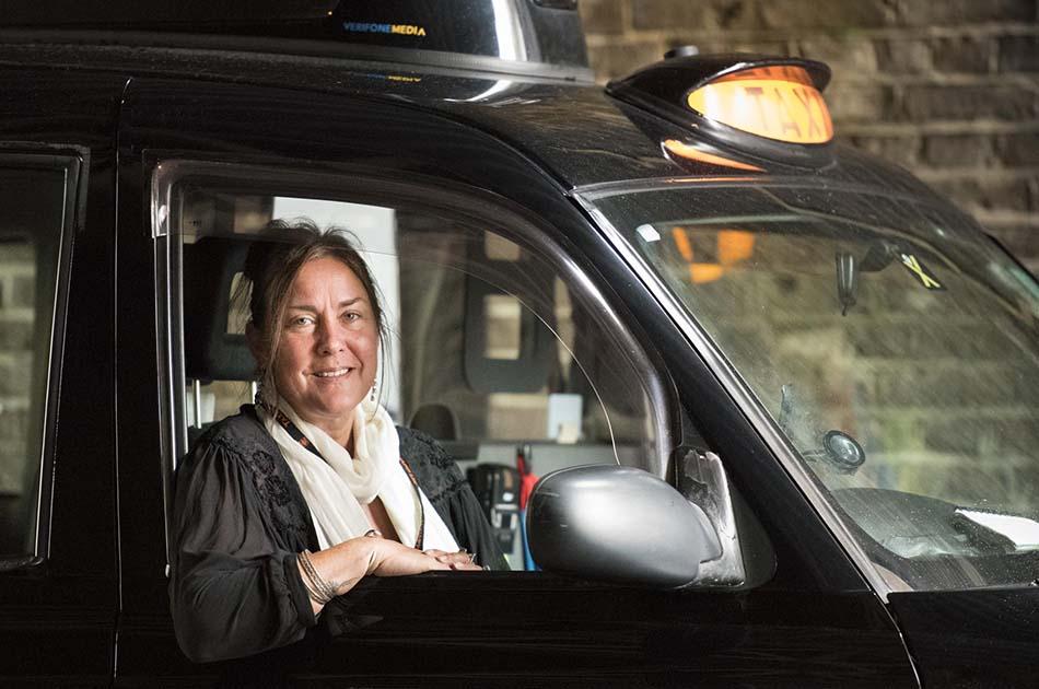 London Taxi women