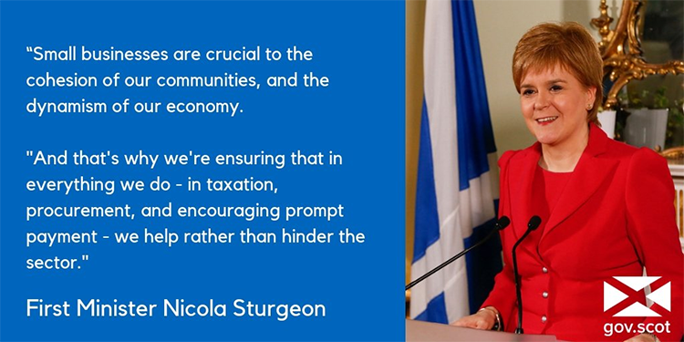 Nicola Sturgeon - IWD - businesswomen