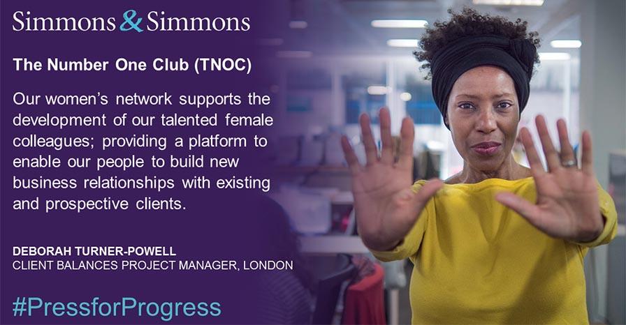Simmons & Simmons - International Women's Day
