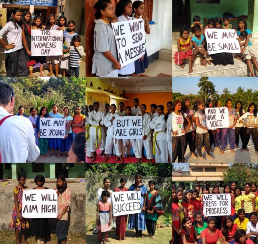 Women's Day - India Girls