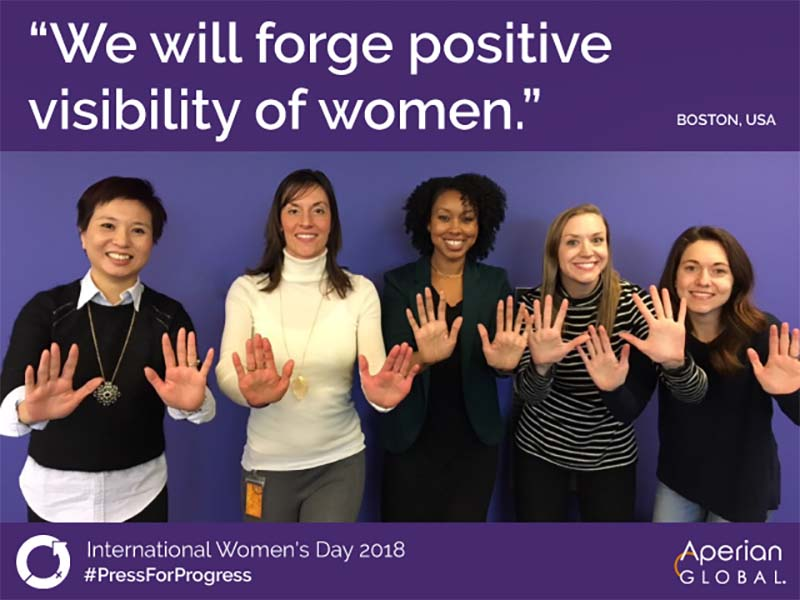 IWD activity at Aperian Global