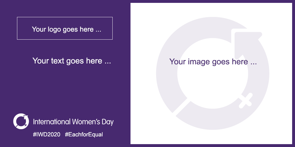 internationalwomensday resources - IWD social card