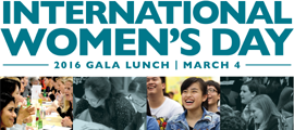 The Womens Foundation IWD Gala Lunch