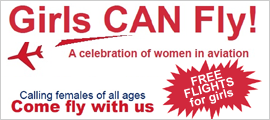 Girls CAN Fly! A Celebration of women in aviation