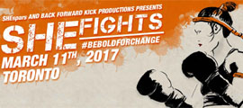 SHEfights: #BeBoldForChange