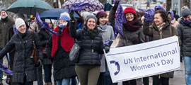 International Womens Day Walk - Be Bold For Change