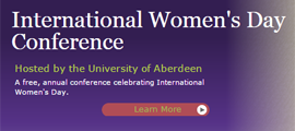 University of Aberdeen 2016 International Womens Day Conference