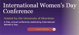 University of Aberdeen 2016 International Womens Day Conference