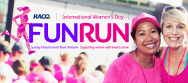 International Womens Day Fun Run 2016