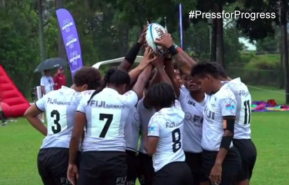 Fiji Women's National Rugby Sevens Team