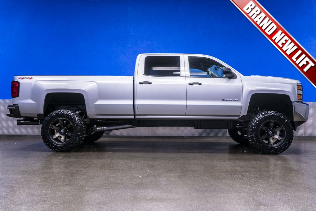 Lifted 2015 Chevrolet Silverado 2500 Hd Lt 4x4 Northwest Autos Post
