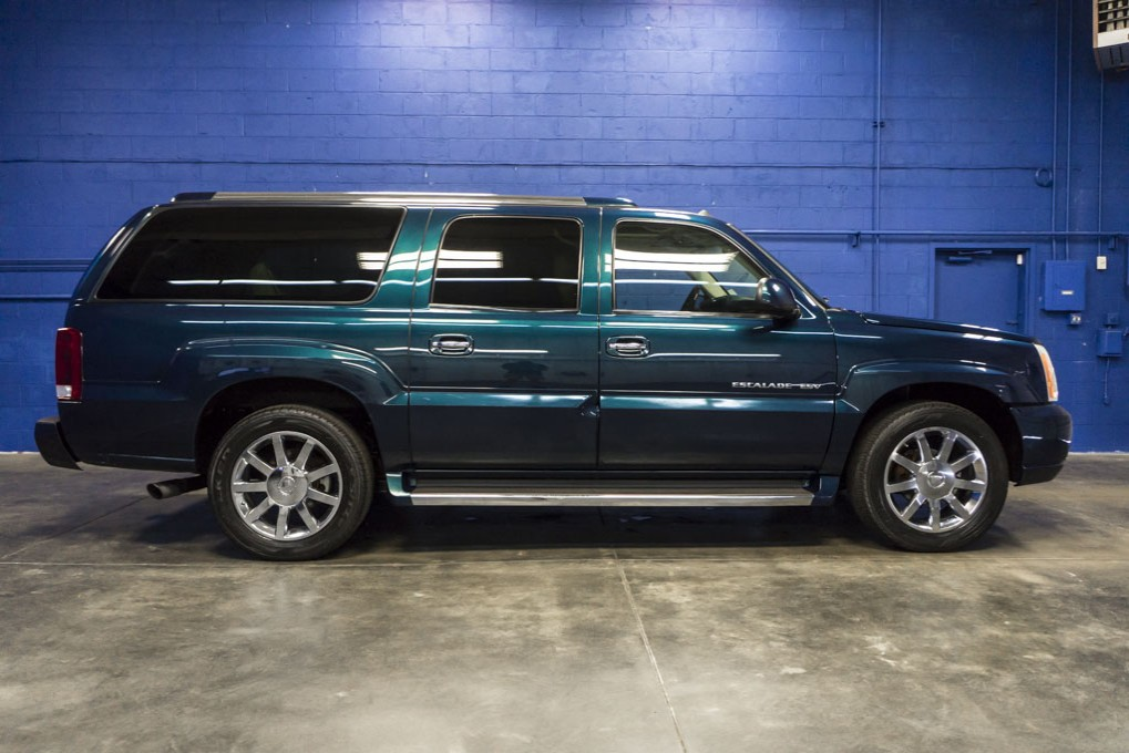 used 2005 cadillac escalade esv suv pricing features. Black Bedroom Furniture Sets. Home Design Ideas