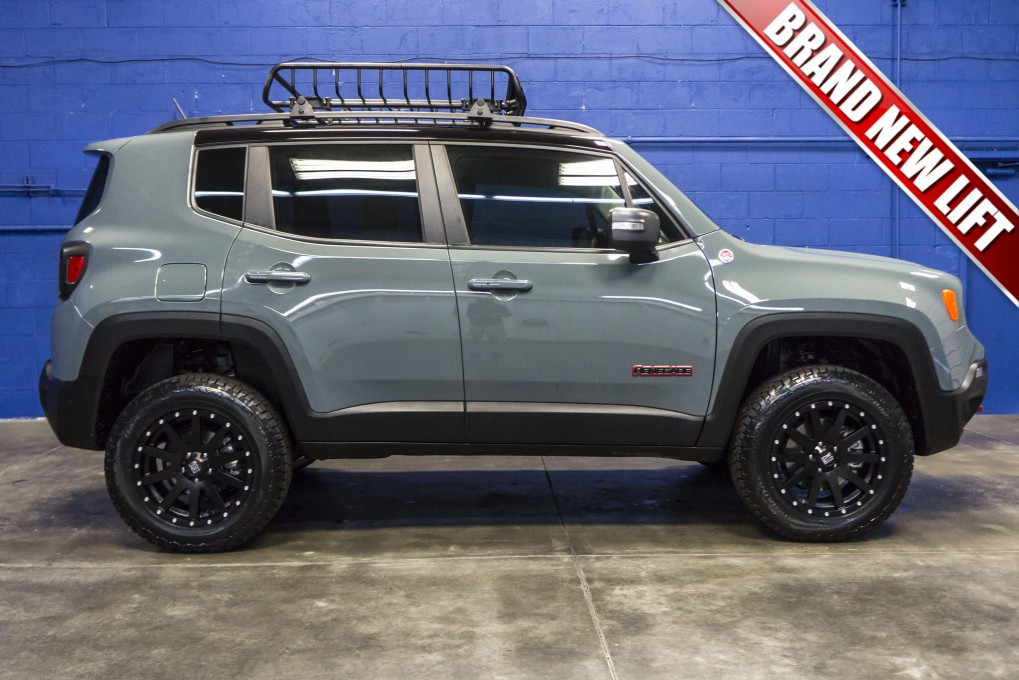 Jeep Renegade Trailhawk Lift >> 2016 Jeep Renegade