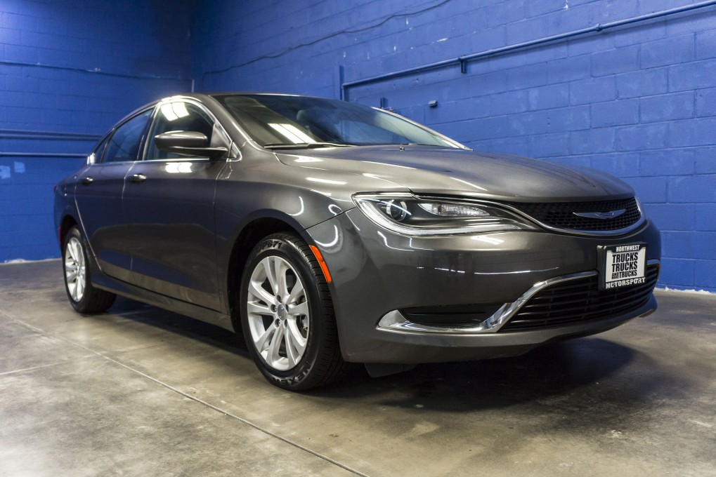 2015 Chrysler 200 Limited Gray >> 2015 Chrysler 200