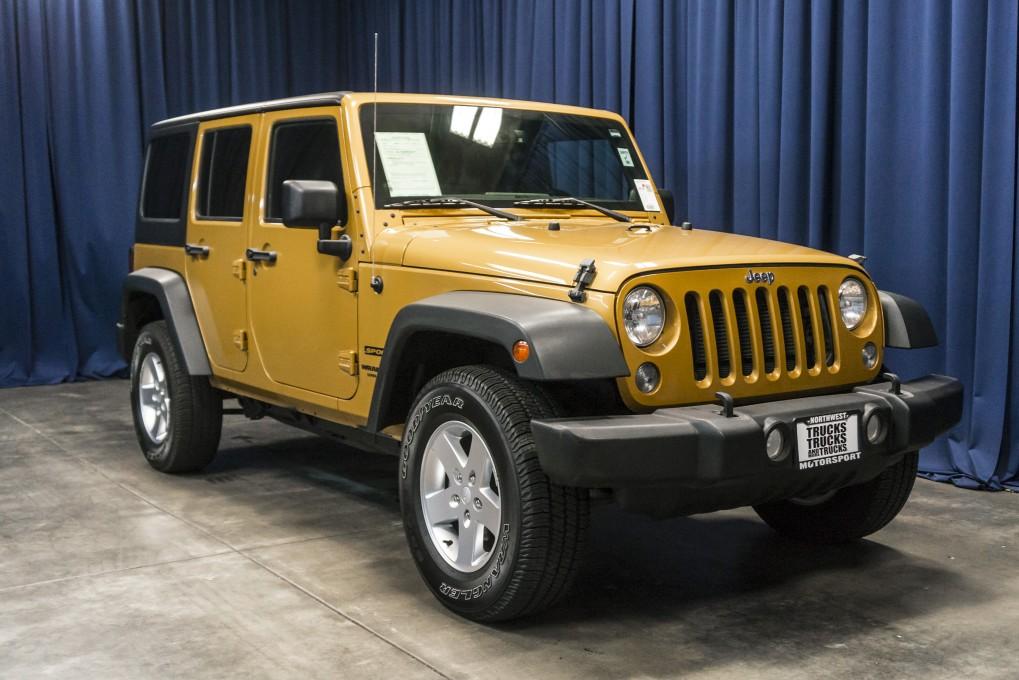 Used 2014 Jeep Wrangler, $24999