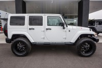 Lifted 2014 Jeep Wrangler Unlimited Sahara 4x4