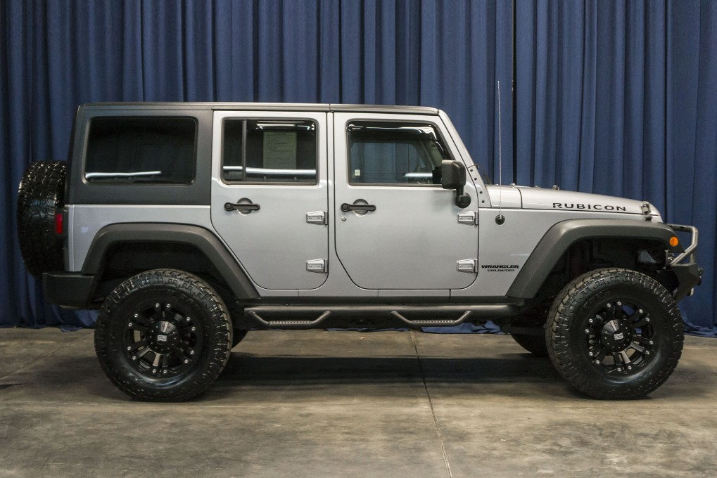 Lifted 2014 Jeep Wrangler Unlimited Rubicon 4x4