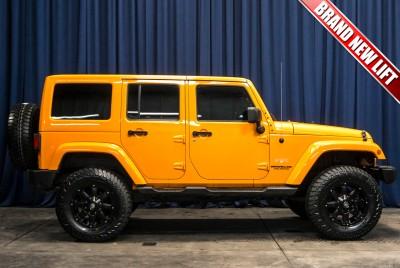 Lifted 2012 Jeep Wrangler Unlimited Sahara 4x4