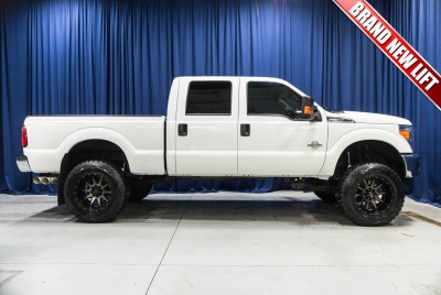 Lifted 2016 Ford F-250 XLT 4x4