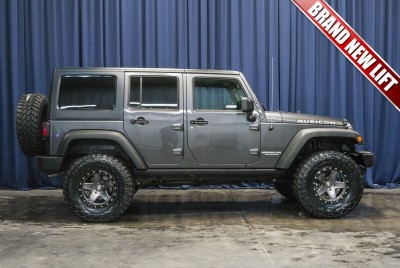Lifted 2016 Jeep Wrangler Unlimited Rubicon 4x4