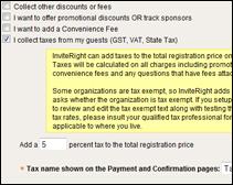 event sample gst tax