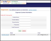 event sample multi user capability
