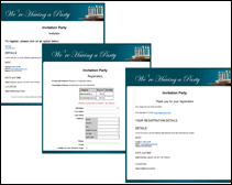 event sample speedy guest sign up