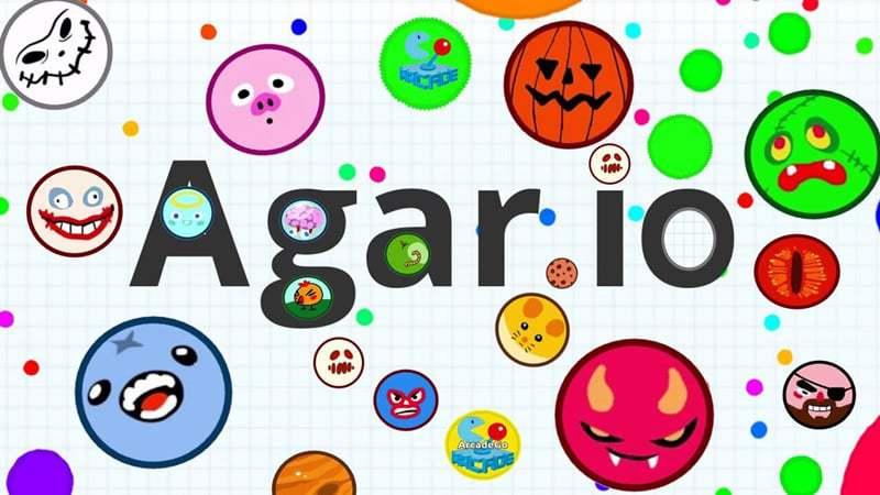 Agar.io thumbnail image. Play IO Games at iogames.network!