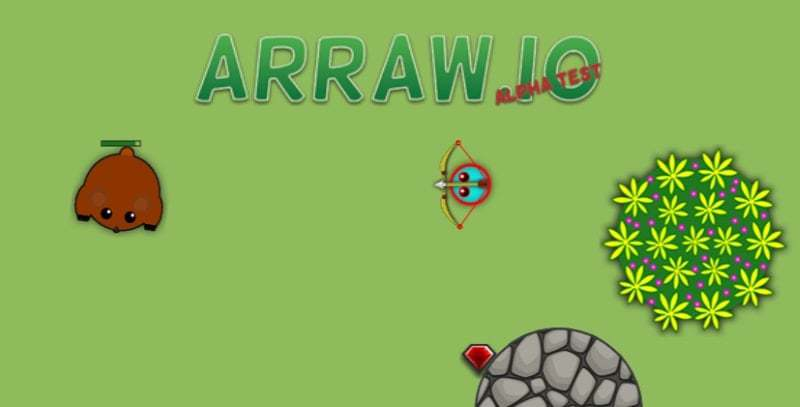 Arraw.io thumbnail image. Play IO Games at iogames.network!
