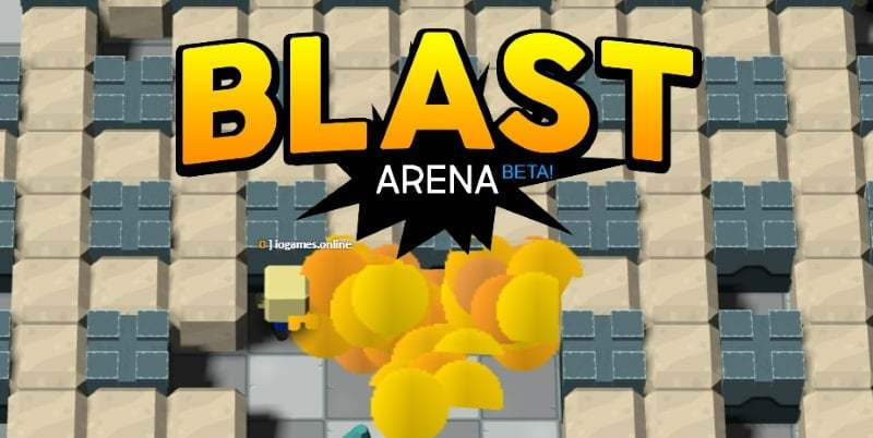 BlastArena.io thumbnail image. Play IO Games at iogames.network!