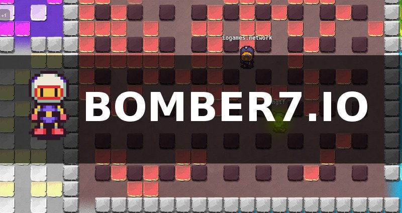 Bomber7.io thumbnail image. Play IO Games at iogames.network!