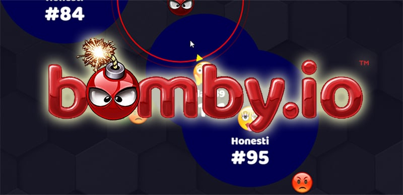 Bomby.io thumbnail image. Play IO Games at iogames.network!