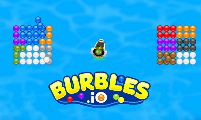 Burbles.io thumbnail image. Play IO Games at iogames.network!