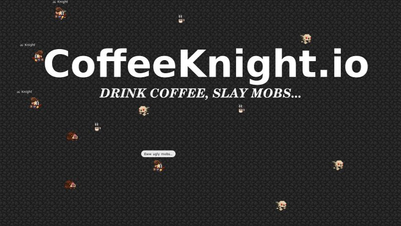 CoffeeKnight.io thumbnail image. Play IO Games at iogames.network!