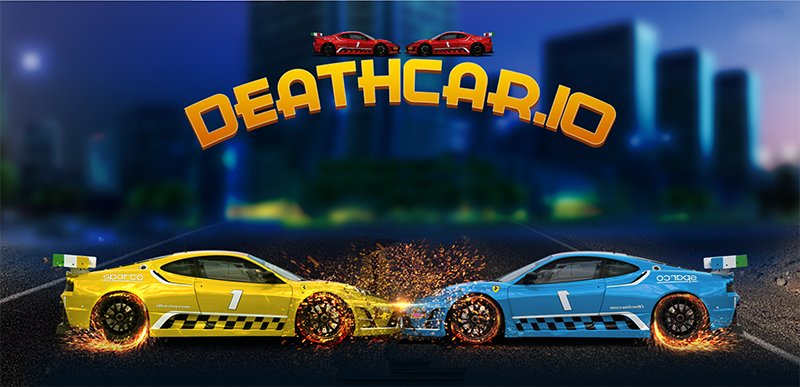 DeathCar.io thumbnail image. Play IO Games at iogames.network!