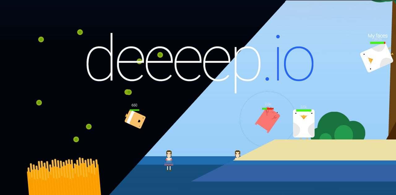 Deeeep.io thumbnail image. Play IO Games at iogames.network!