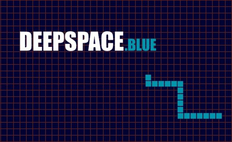 DeepSpace.blue thumbnail image. Play IO Games at iogames.network!