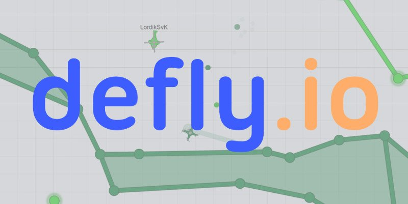 Defly.io thumbnail image. Play IO Games at iogames.network!