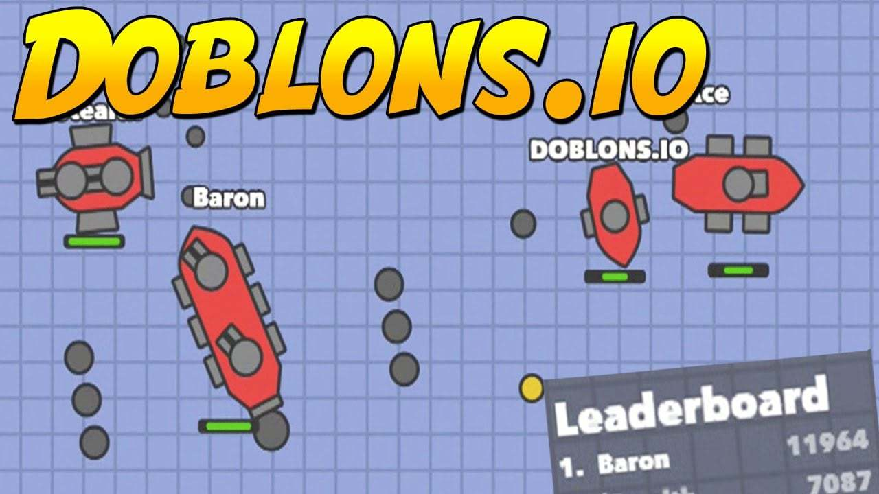 Doblons.io thumbnail image. Play IO Games at iogames.network!
