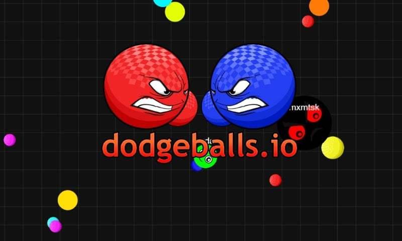 DodgeBalls.io thumbnail image. Play IO Games at iogames.network!
