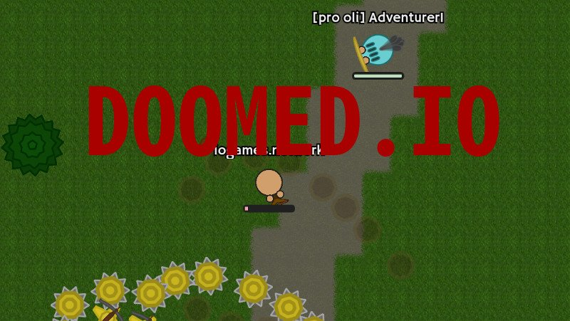 Doomed.io thumbnail image. Play IO Games at iogames.network!