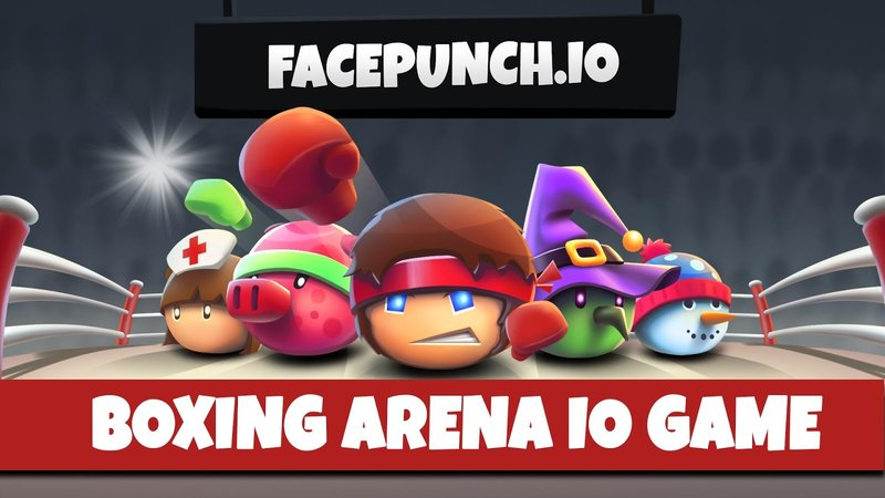 FacePunch.io thumbnail image. Play IO Games at iogames.network!