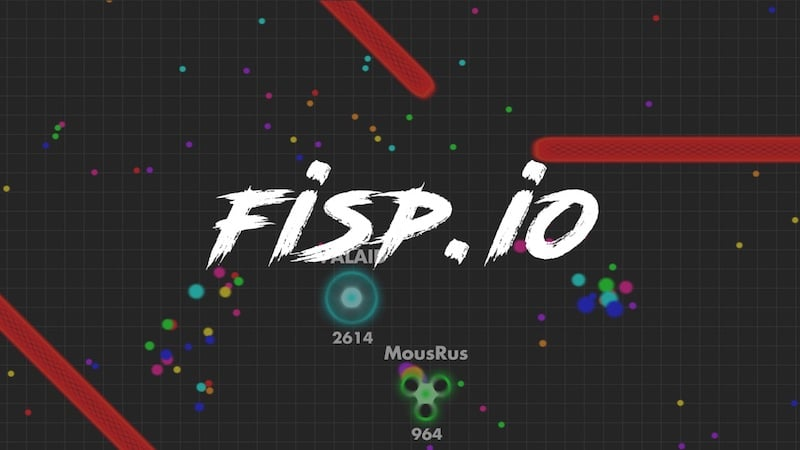 Fisp.io thumbnail image. Play IO Games at iogames.network!
