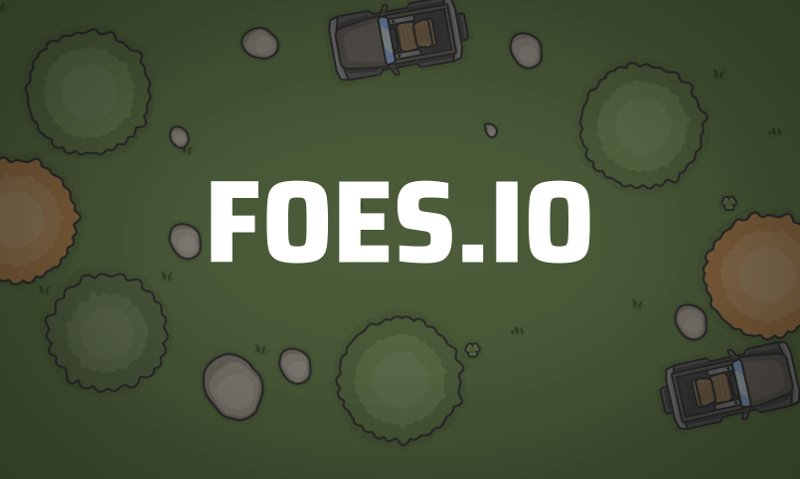 Foes.io thumbnail image. Play IO Games at iogames.network!