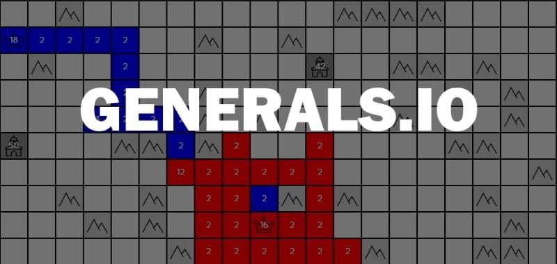 Generals.io thumbnail image. Play IO Games at iogames.network!