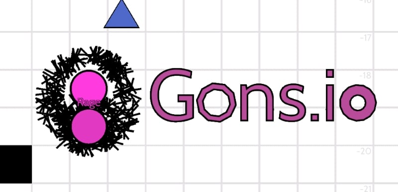 Gons.io thumbnail image. Play IO Games at iogames.network!
