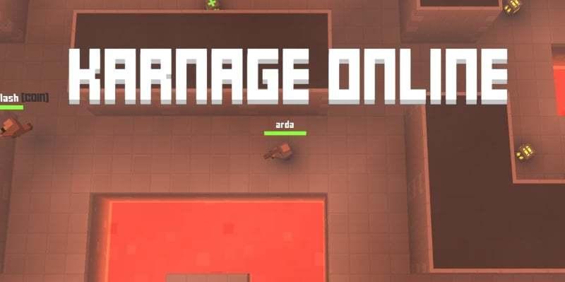 Karnage.io thumbnail image. Play IO Games at iogames.network!