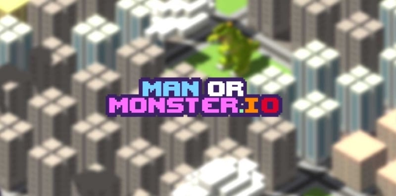 ManOrMonster.io thumbnail image. Play IO Games at iogames.network!