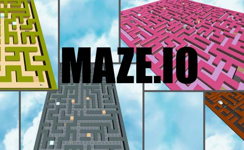 Maze.io thumbnail image. Play IO Games at iogames.network!