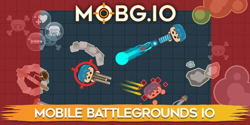Mobg.io thumbnail image. Play IO Games at iogames.network!